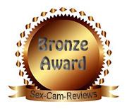 Sex-Cam-Reviews.com's Bronze Award